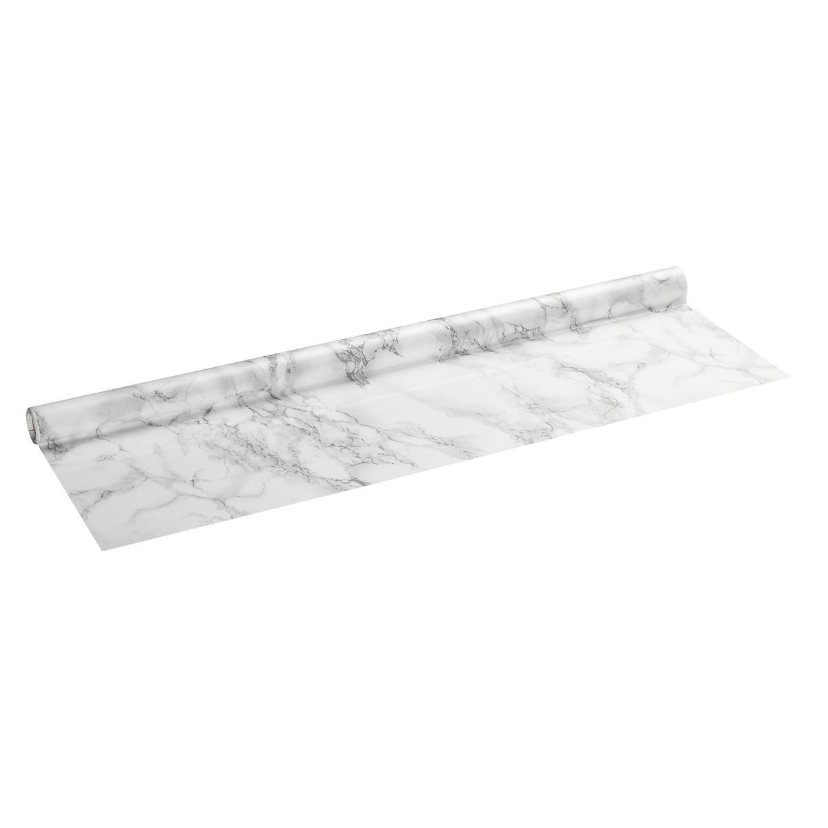 kontaktplast 67 5cm marmor vit. Black Bedroom Furniture Sets. Home Design Ideas
