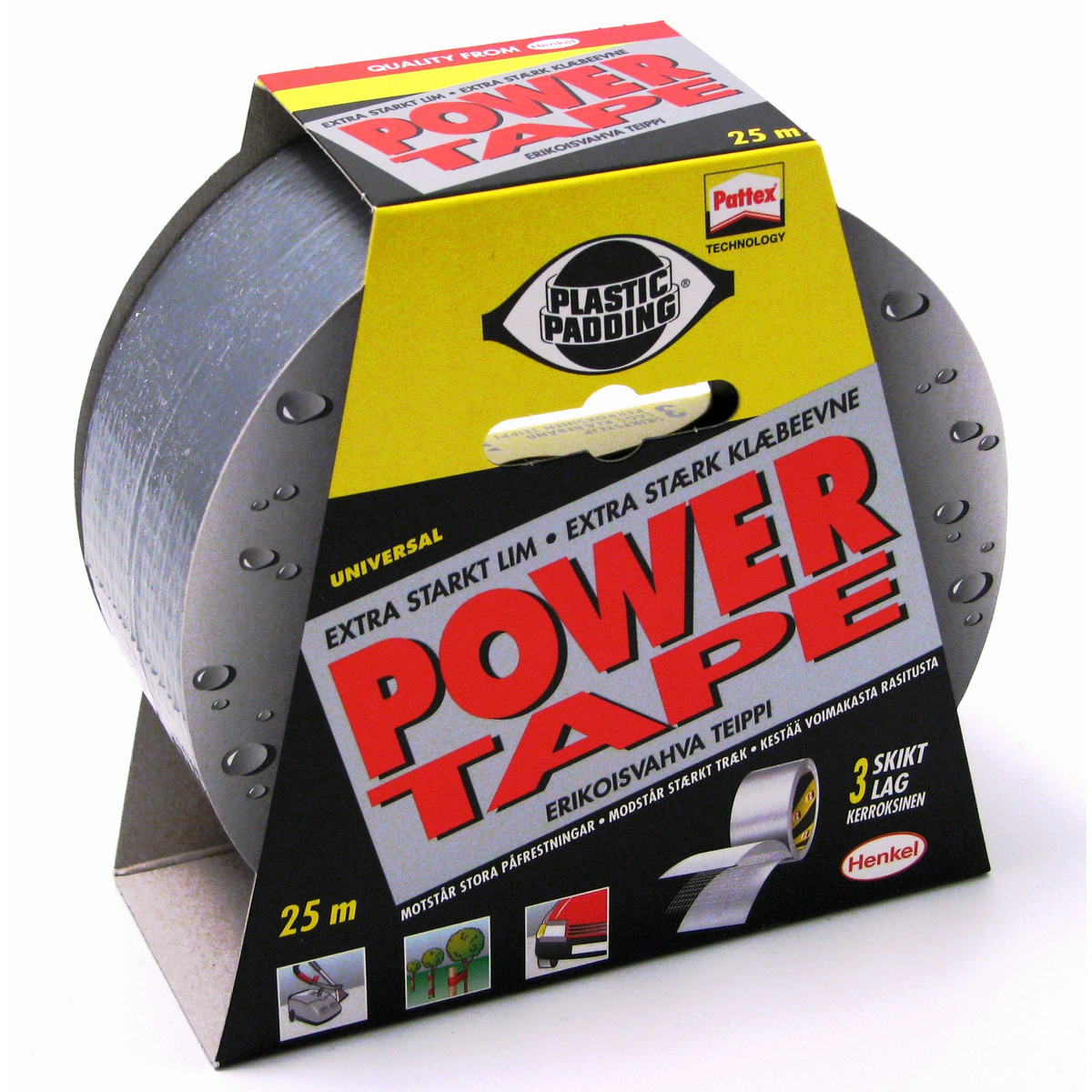 Tejp Power Silver 25m
