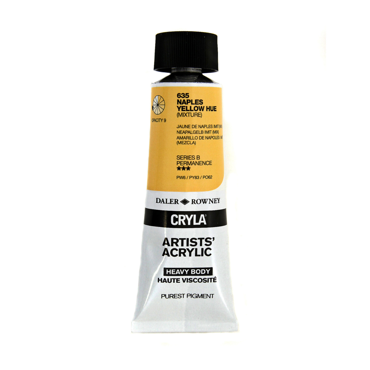 Cryla 75ml Naples Yellow Hue