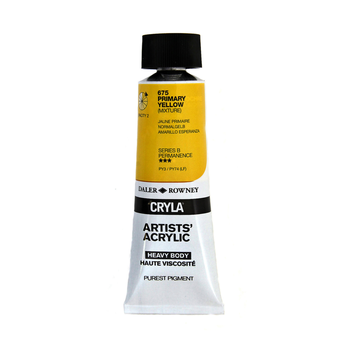 Cryla 75ml Primary Yellow