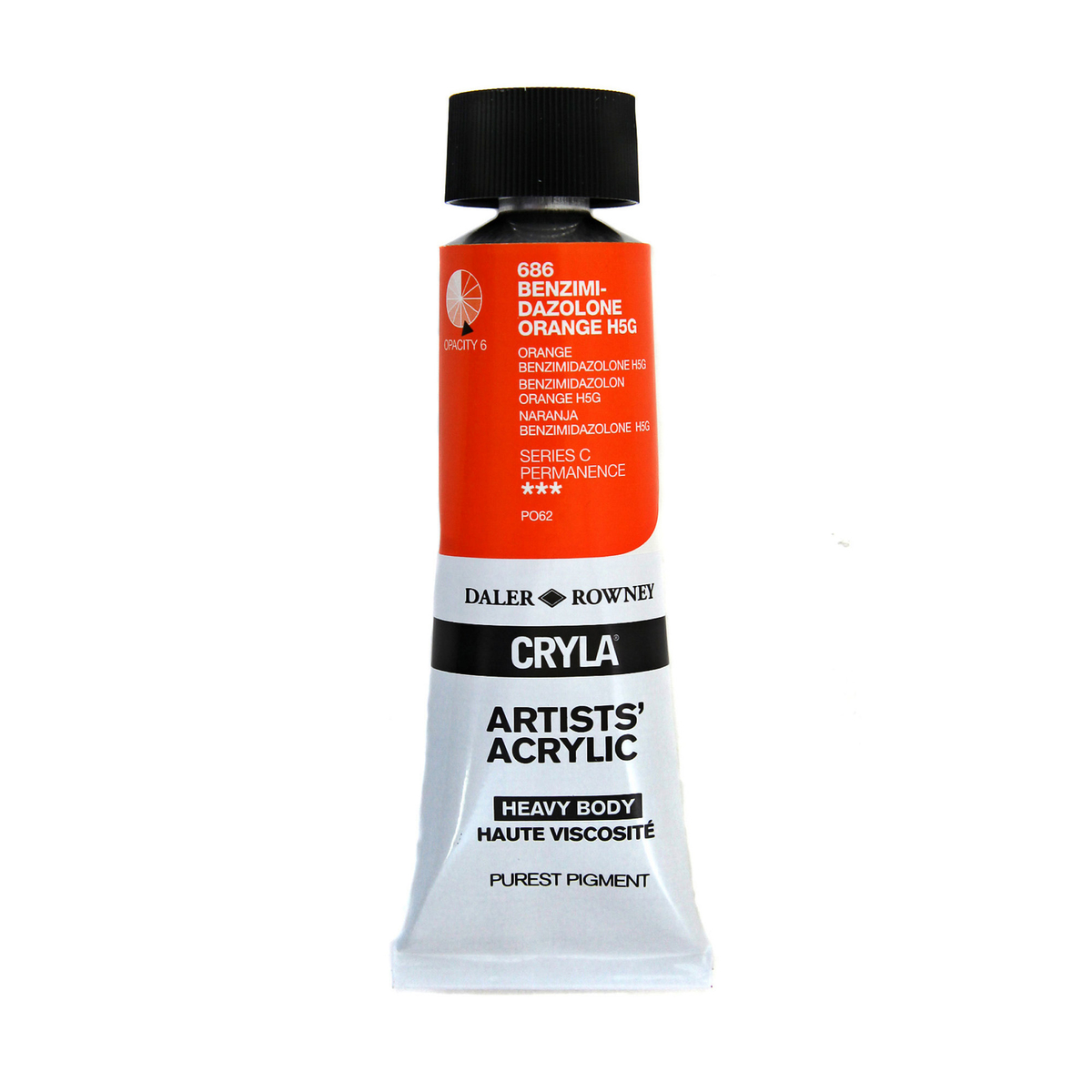 Cryla 75ml Benzim. Orange