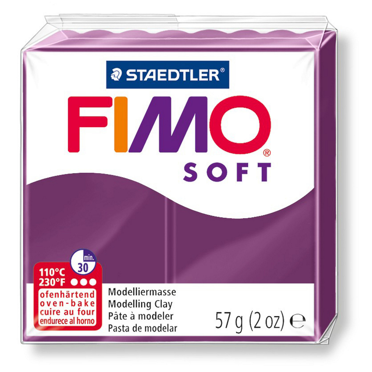 Fimo Soft 57g Royal Violet