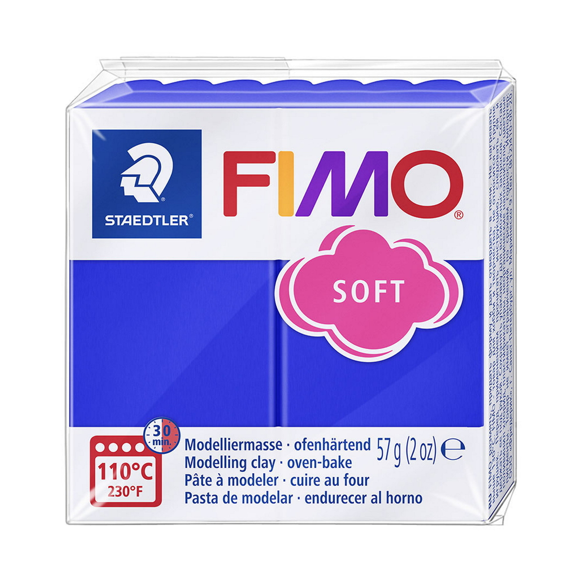 Fimo Soft 57g Brilliant Blue