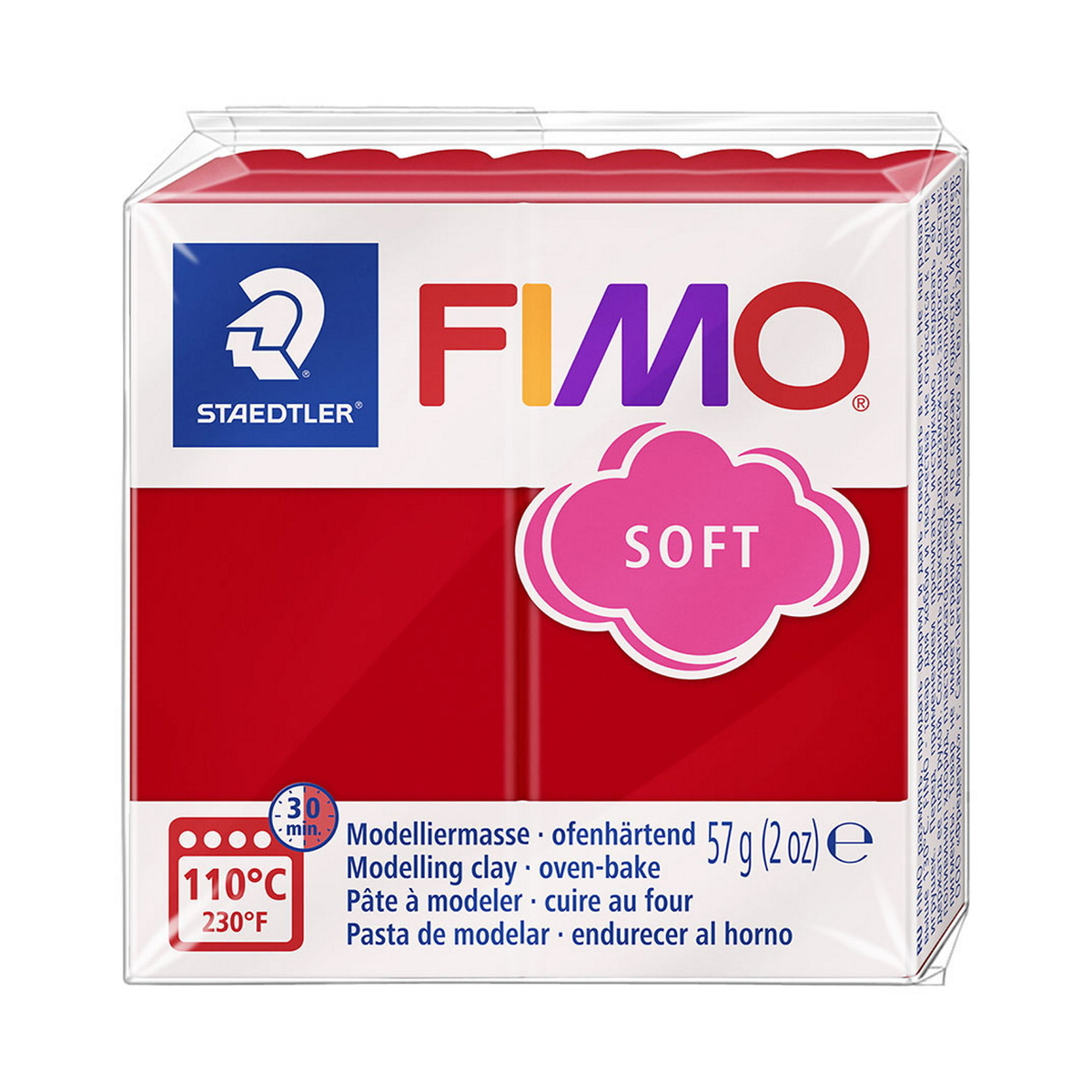 Fimo Soft 57g Indian Red