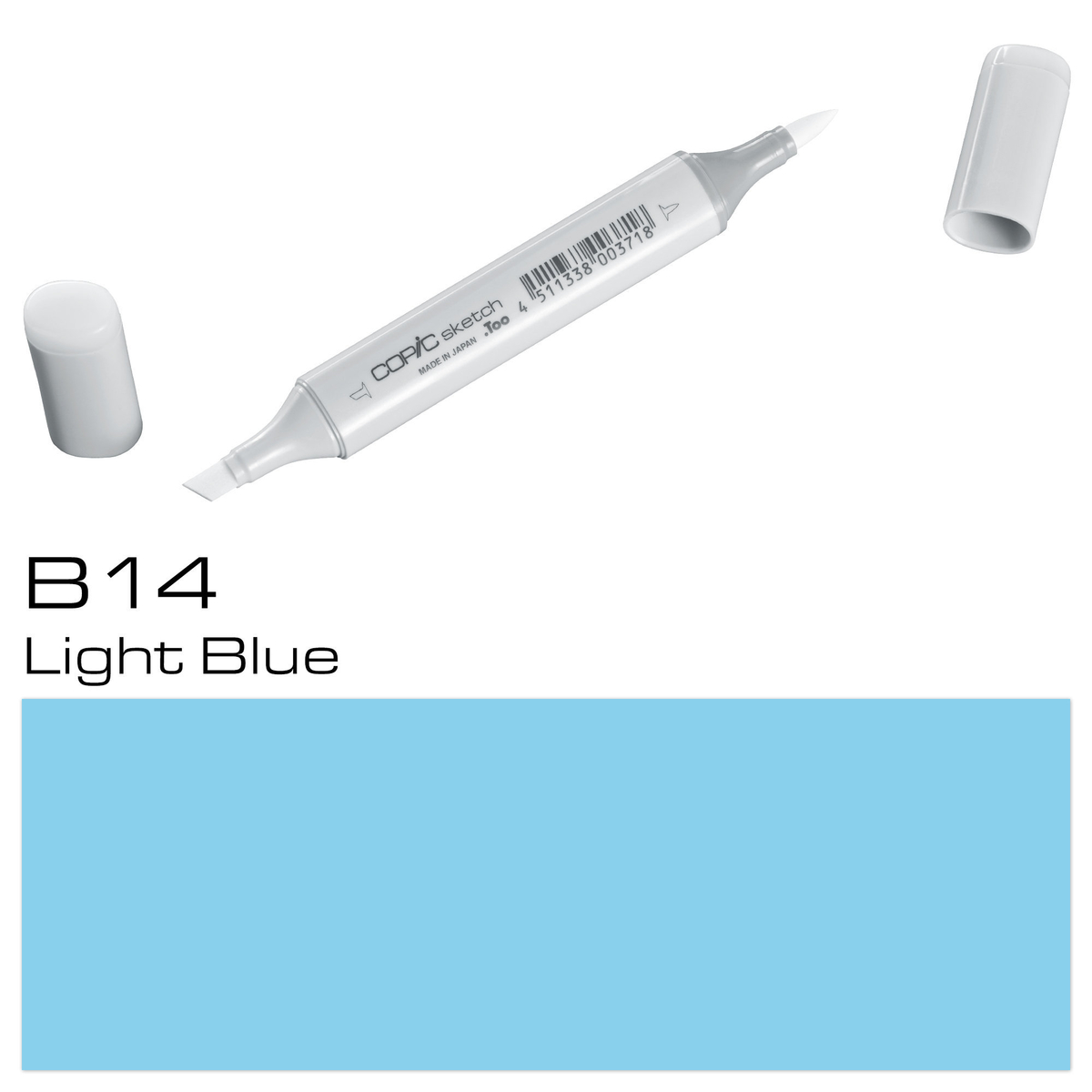 Copic Sketch B14 light blue