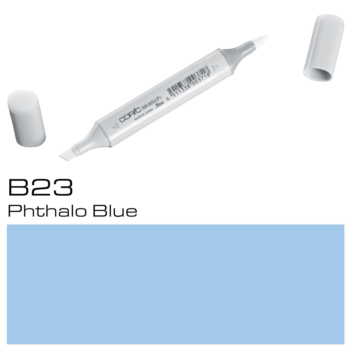 Copic Sketch B23 phthalo blue