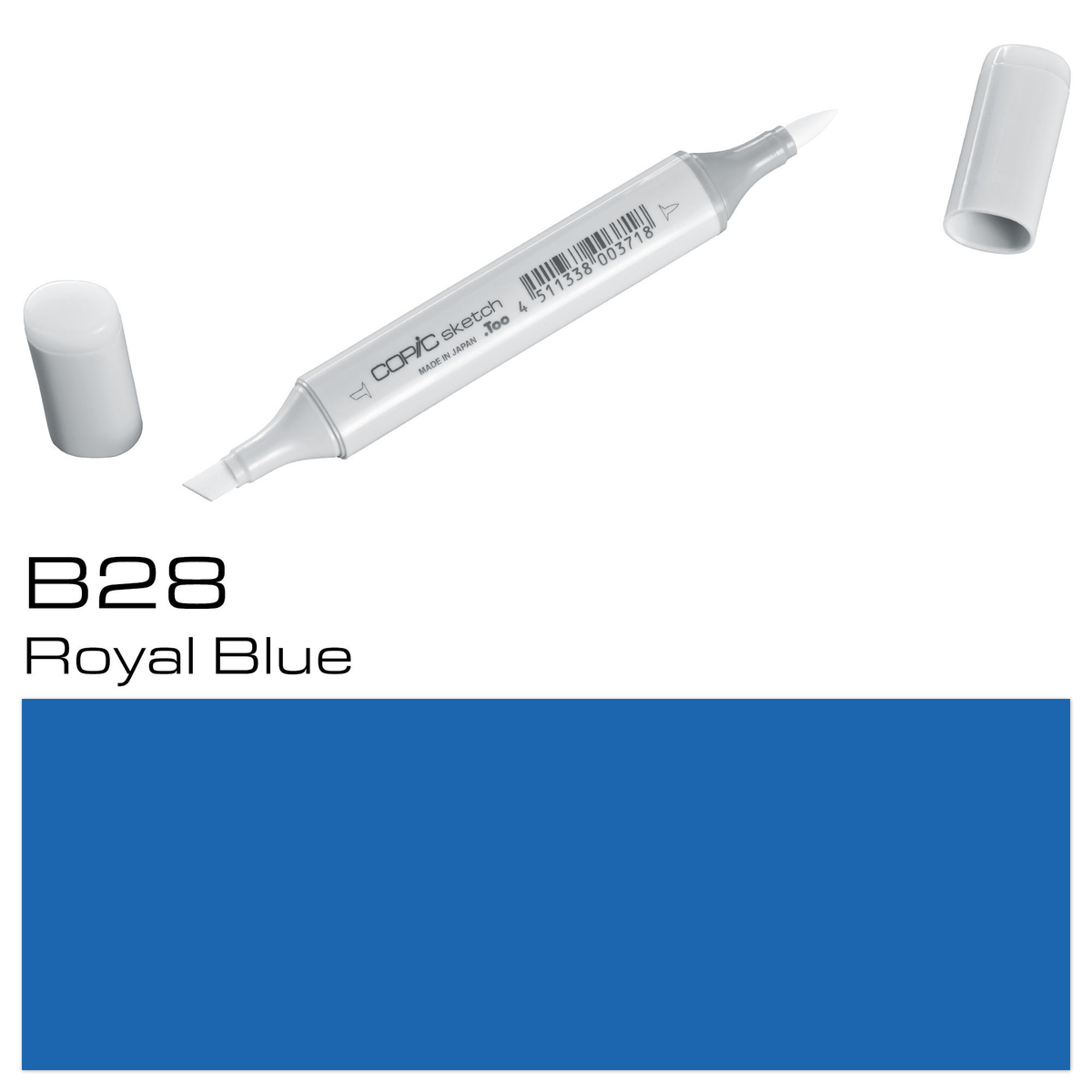 Copic Sketch B28 royal blue