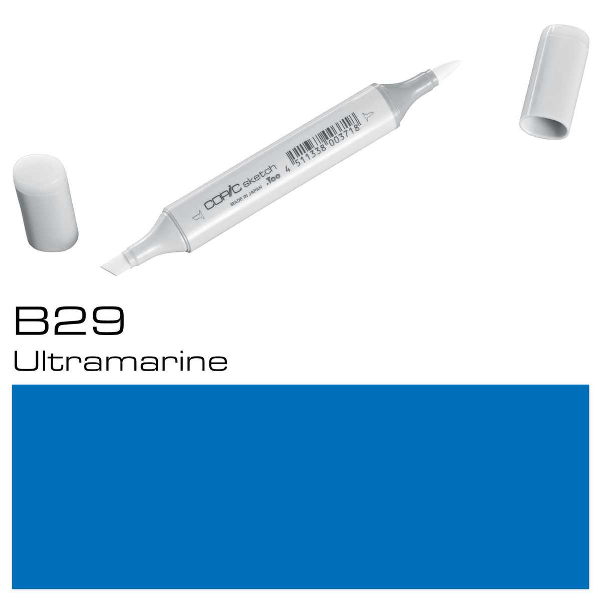 Copic Sketch B29 ultramarine