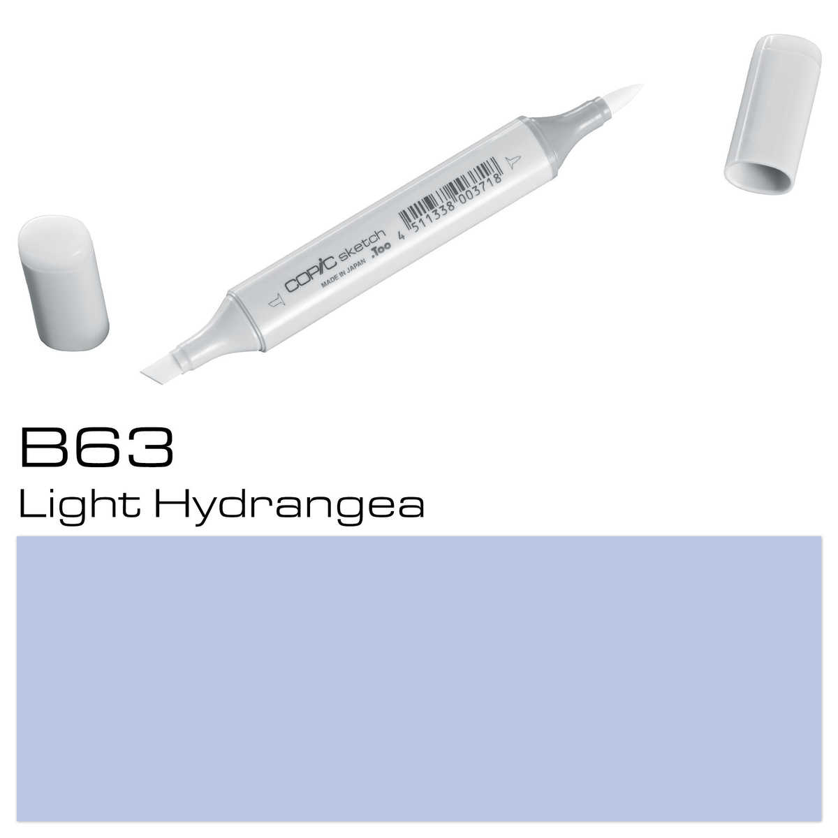 Copic Sketch B63 light hydran.