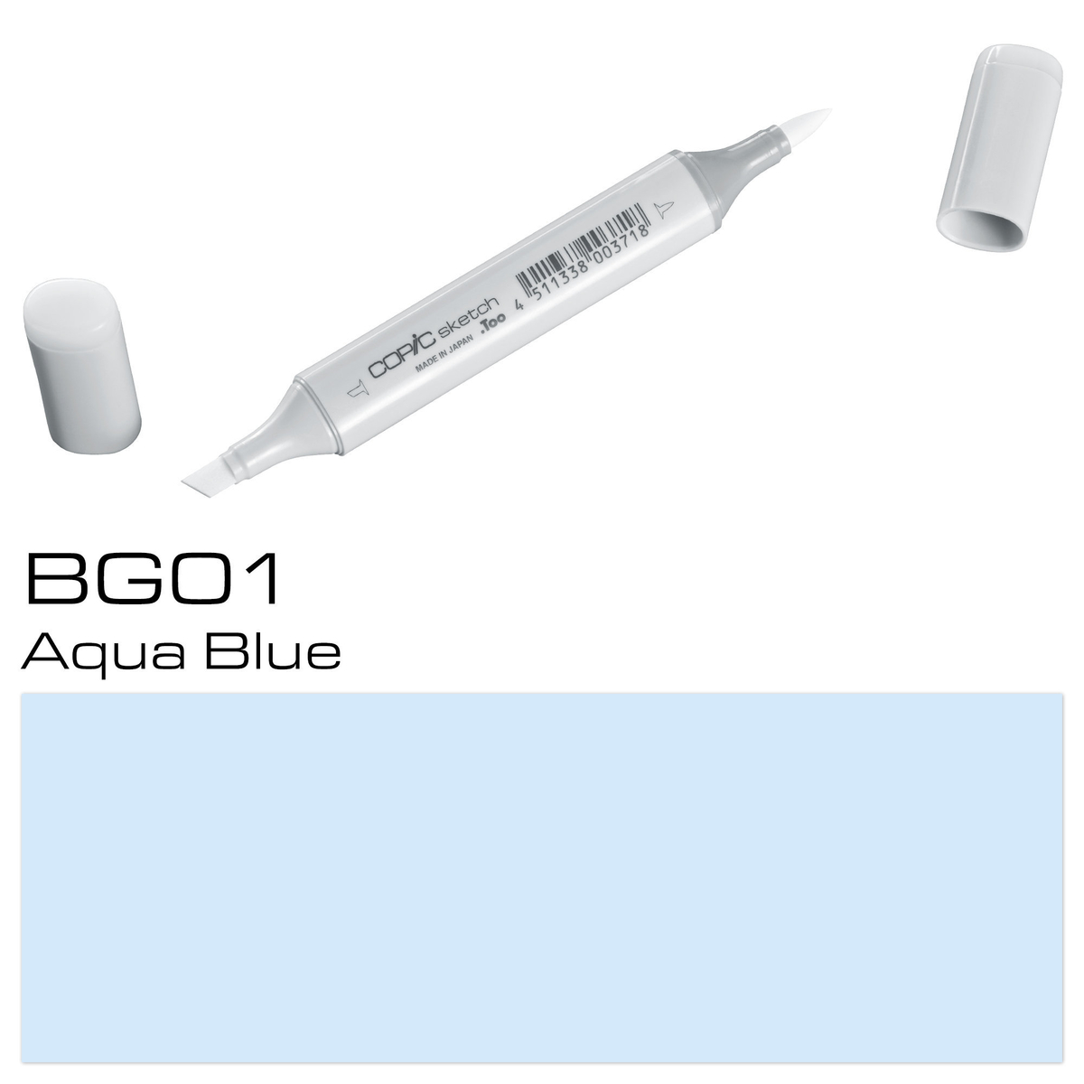 Copic Sketch BG 01 aqua blue
