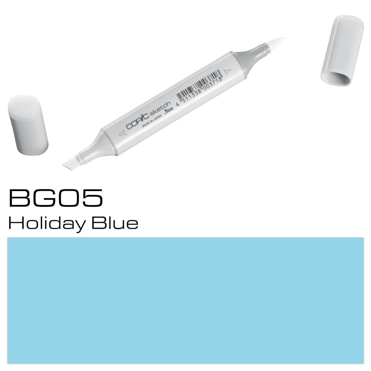 Copic Sketch BG 05 holiday blu