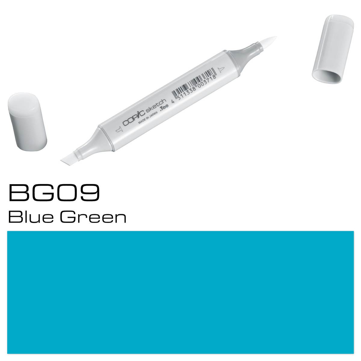 Copic Sketch BG 09 blue green