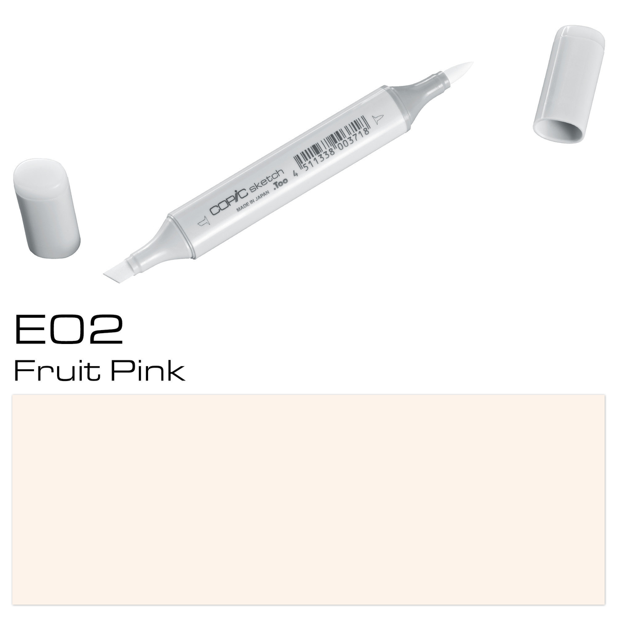 Copic Sketch E 02 fruit pink