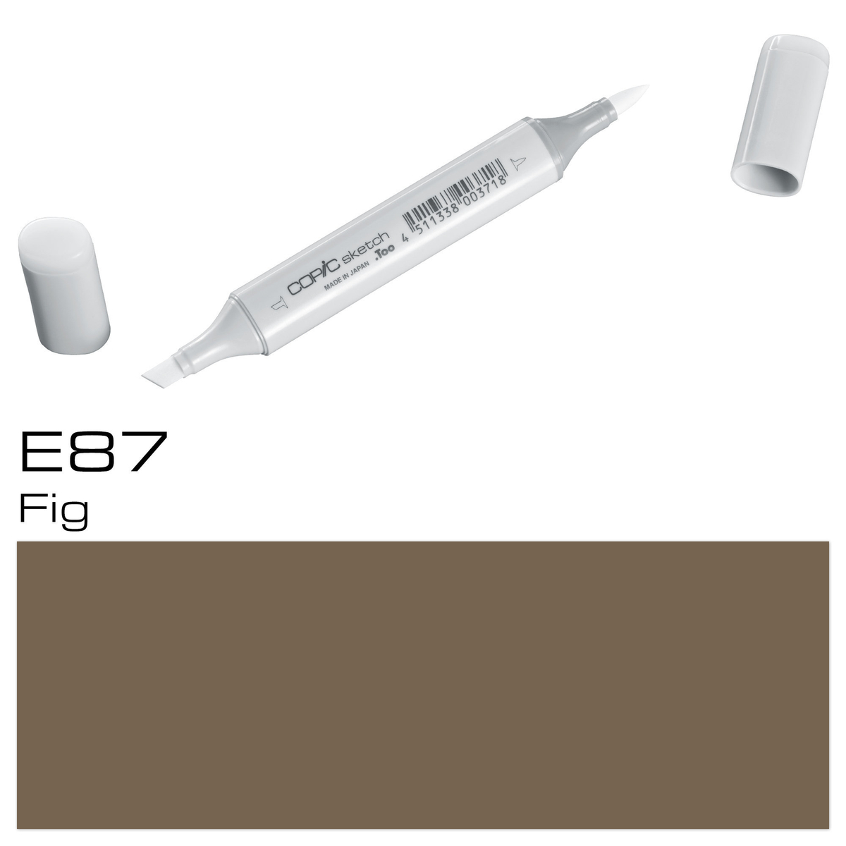 Copic Sketch E 87 fig