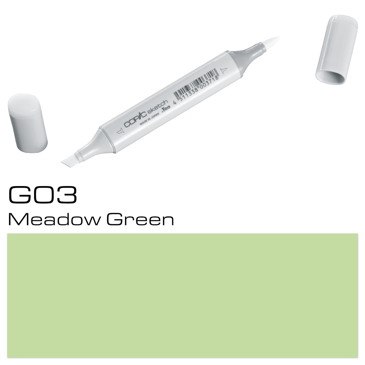 Copic Sketch G 03 meadow green