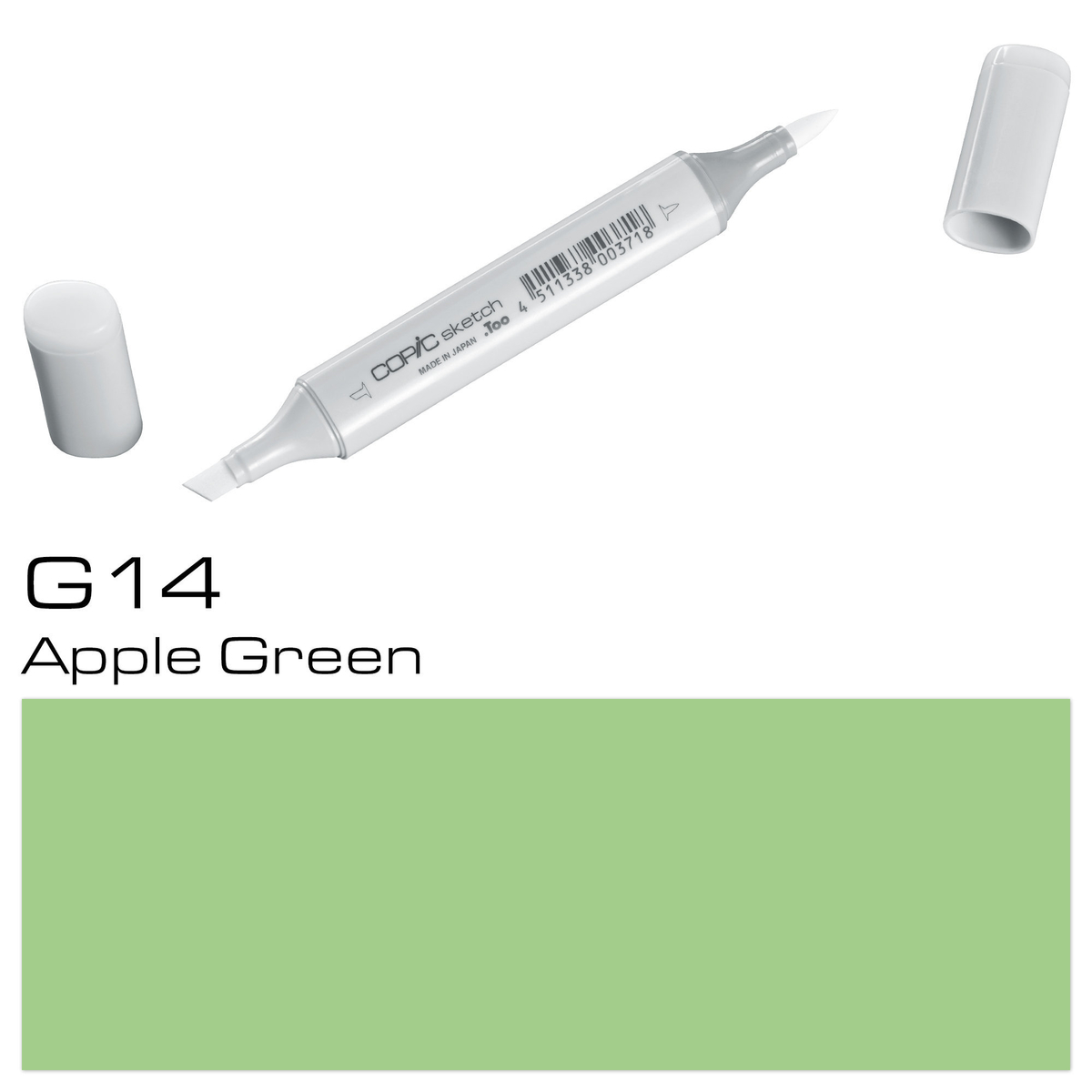 Copic Sketch G 14 apple green