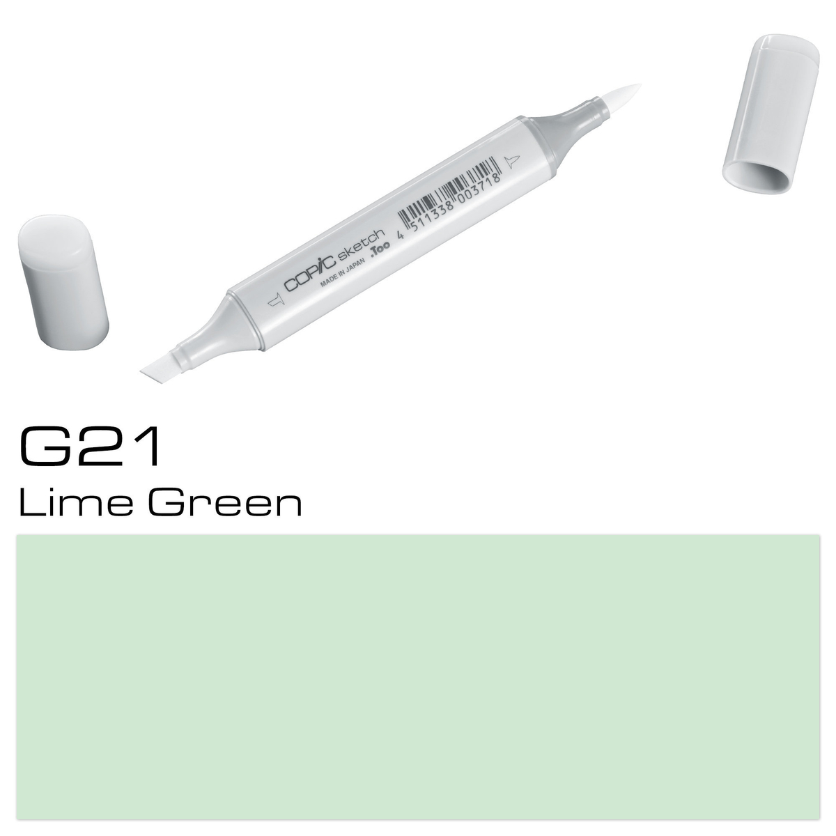 Copic Sketch G 21 lime green
