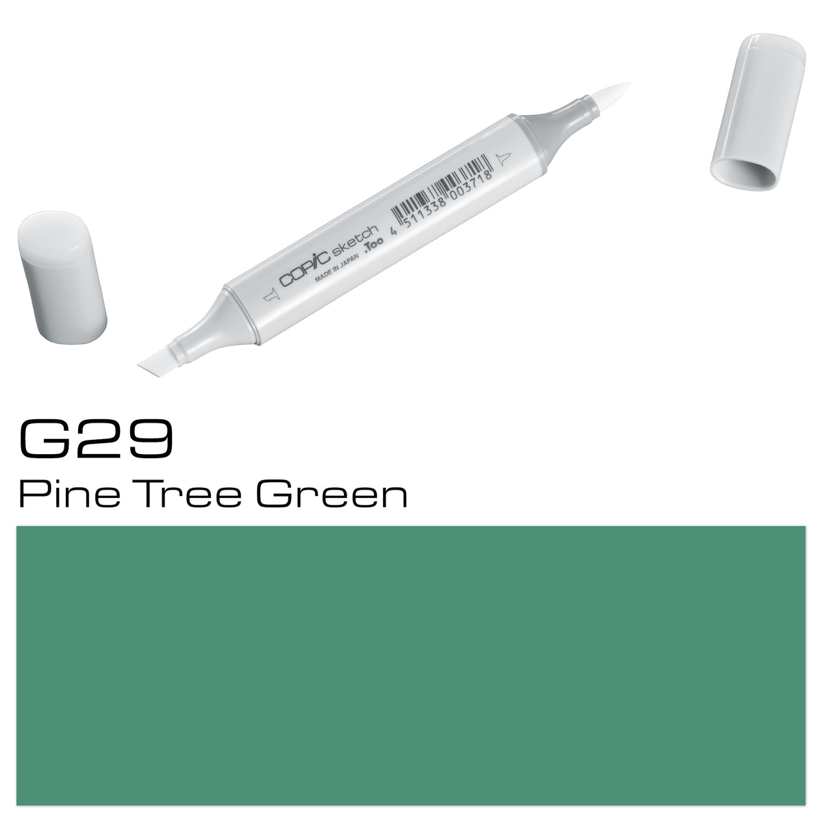Copic Sketch G 29 pine tr gree