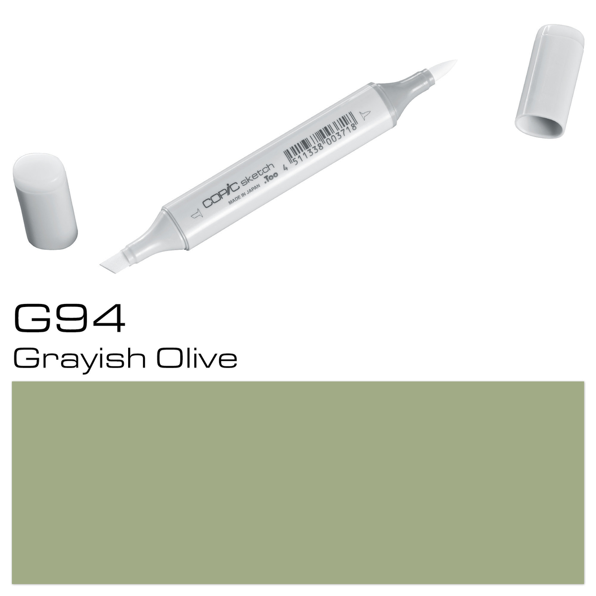 Copic Sketch G 94 grayish oliv