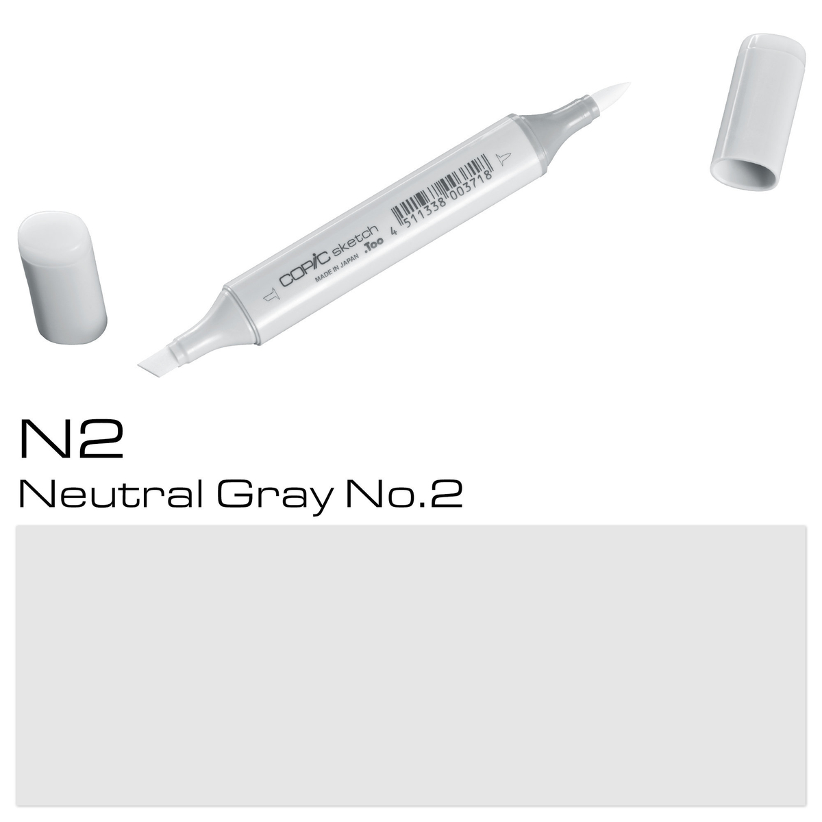 Copic Sketch N 2 neutral gray