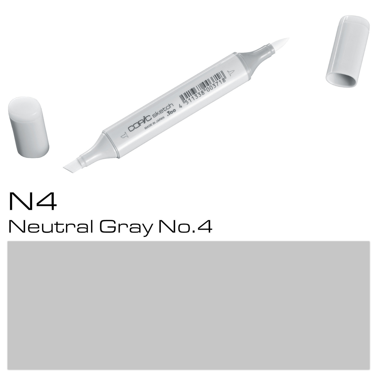 Copic Sketch N 4 neutral gray