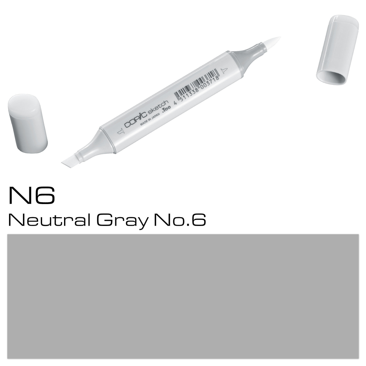 Copic Sketch N 6 neutral gray