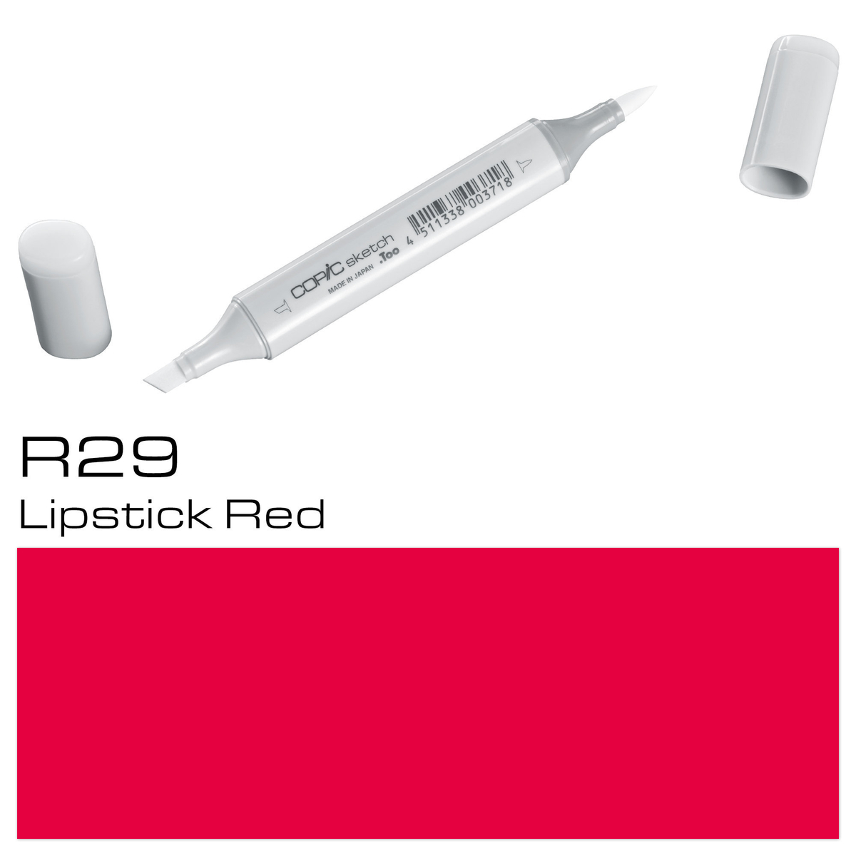 Copic Sketch R 29 lipstick red