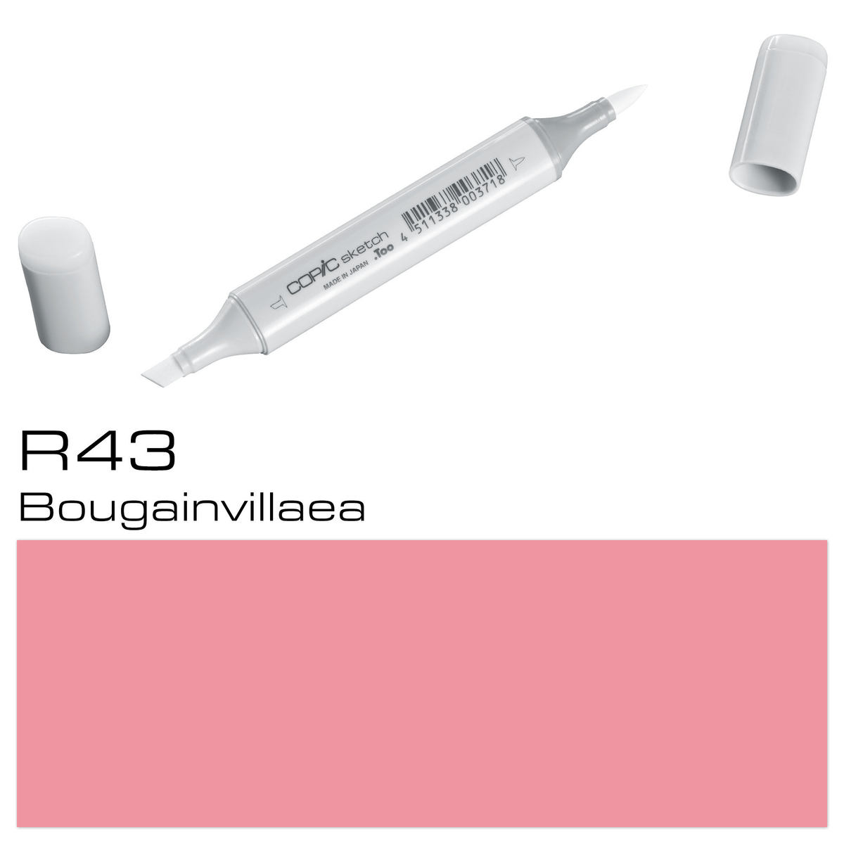 Copic Sketch R 43 bougainvilli