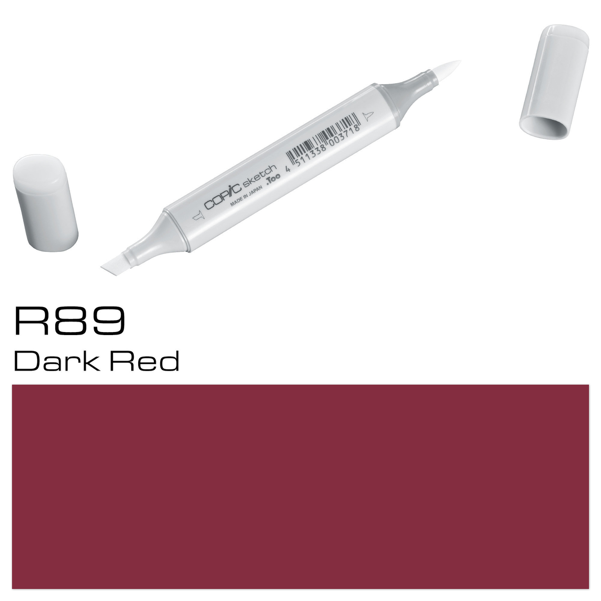 Copic Sketch R 89 dark red