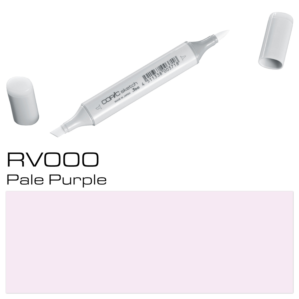 Copic Sketch RV 000 pale purpl