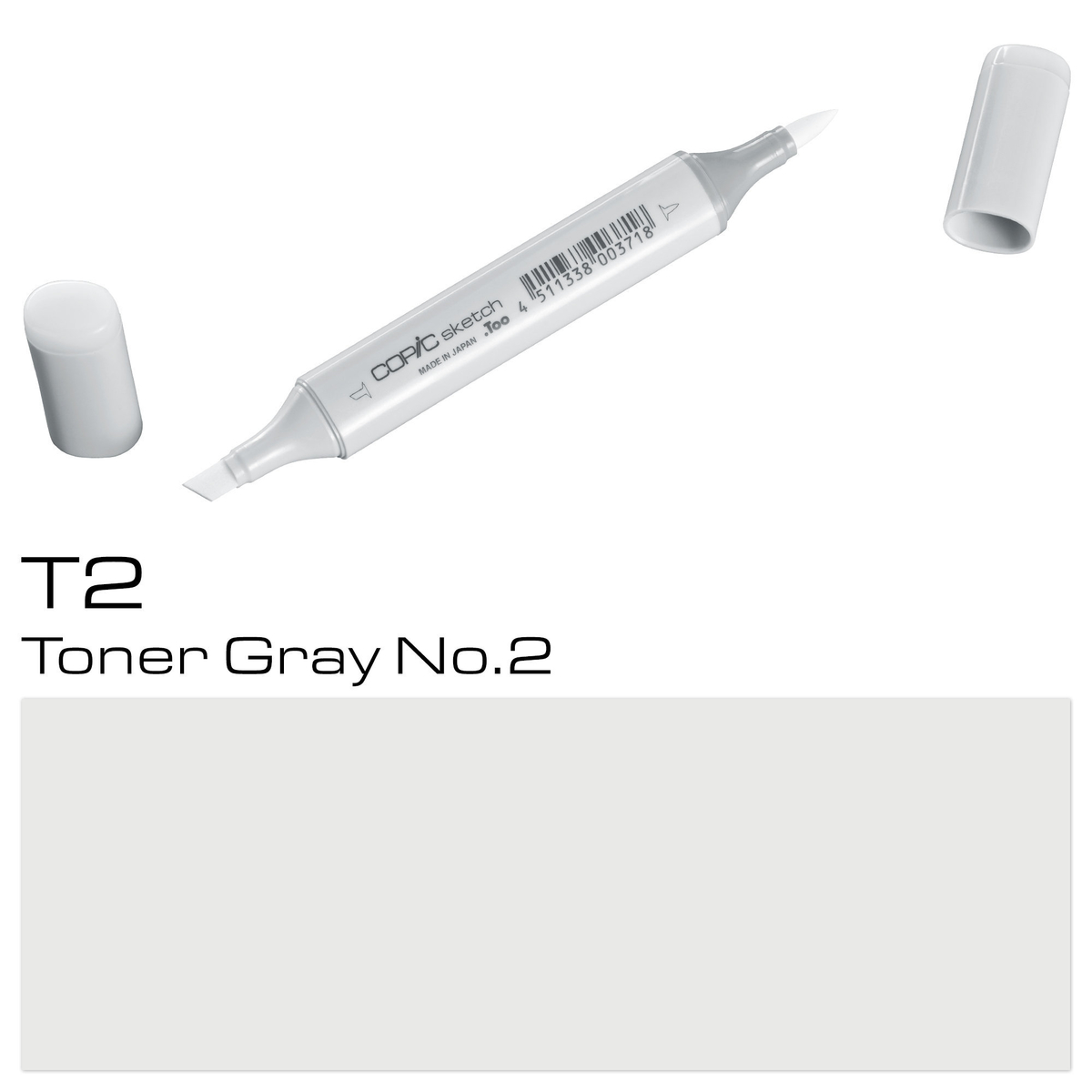 Copic Sketch T 2 toner gray