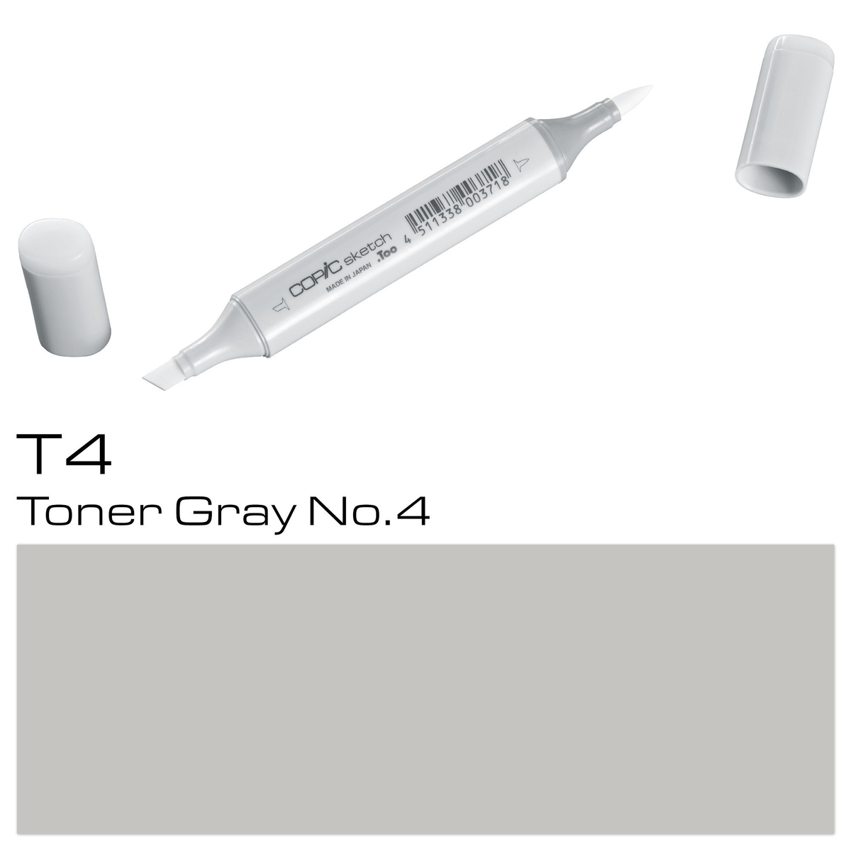 Copic Sketch T 4 toner gray