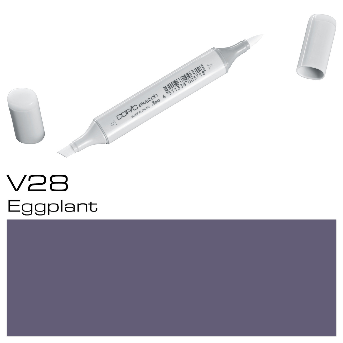 Copic Sketch V 28 eggplant