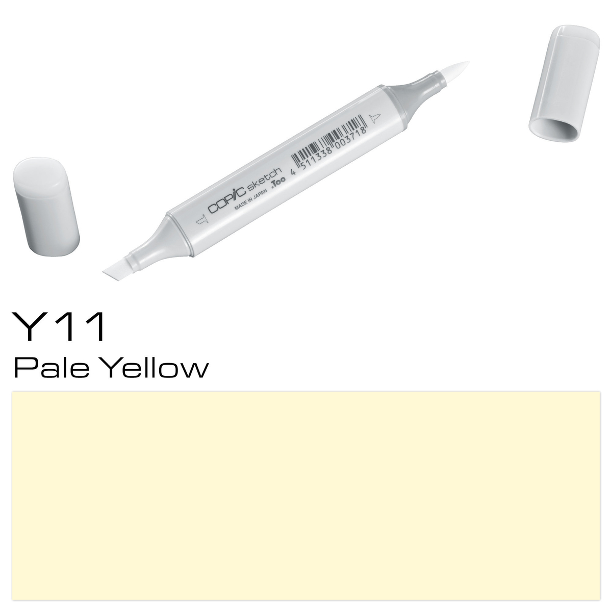 Copic Sketch Y 11 pale yellow