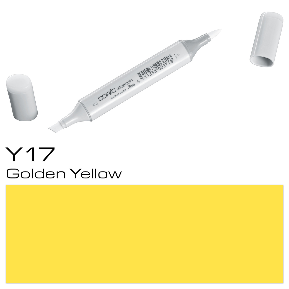 Copic Sketch Y 17 golde.yellow