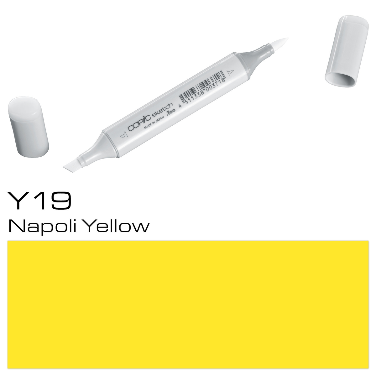 Copic Sketch Y 19 napol.yellow