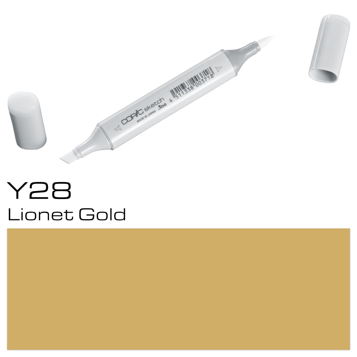 Copic Sketch Y 28 lionet gold
