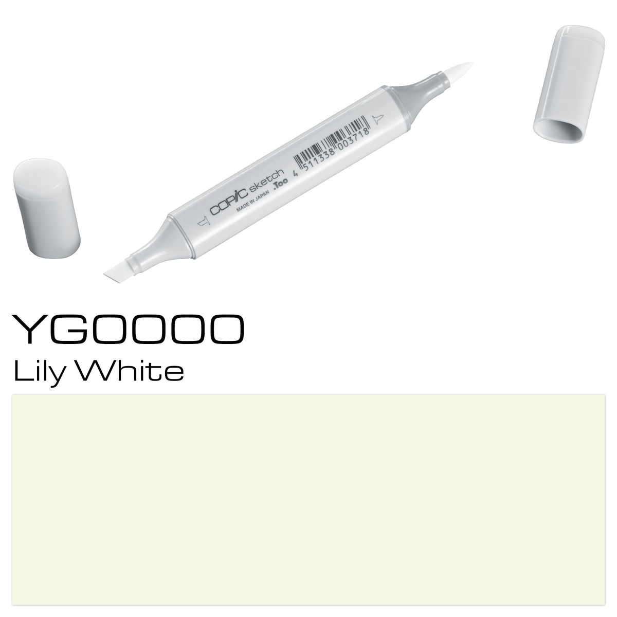 Copic Sketch YG 0000 lily whit