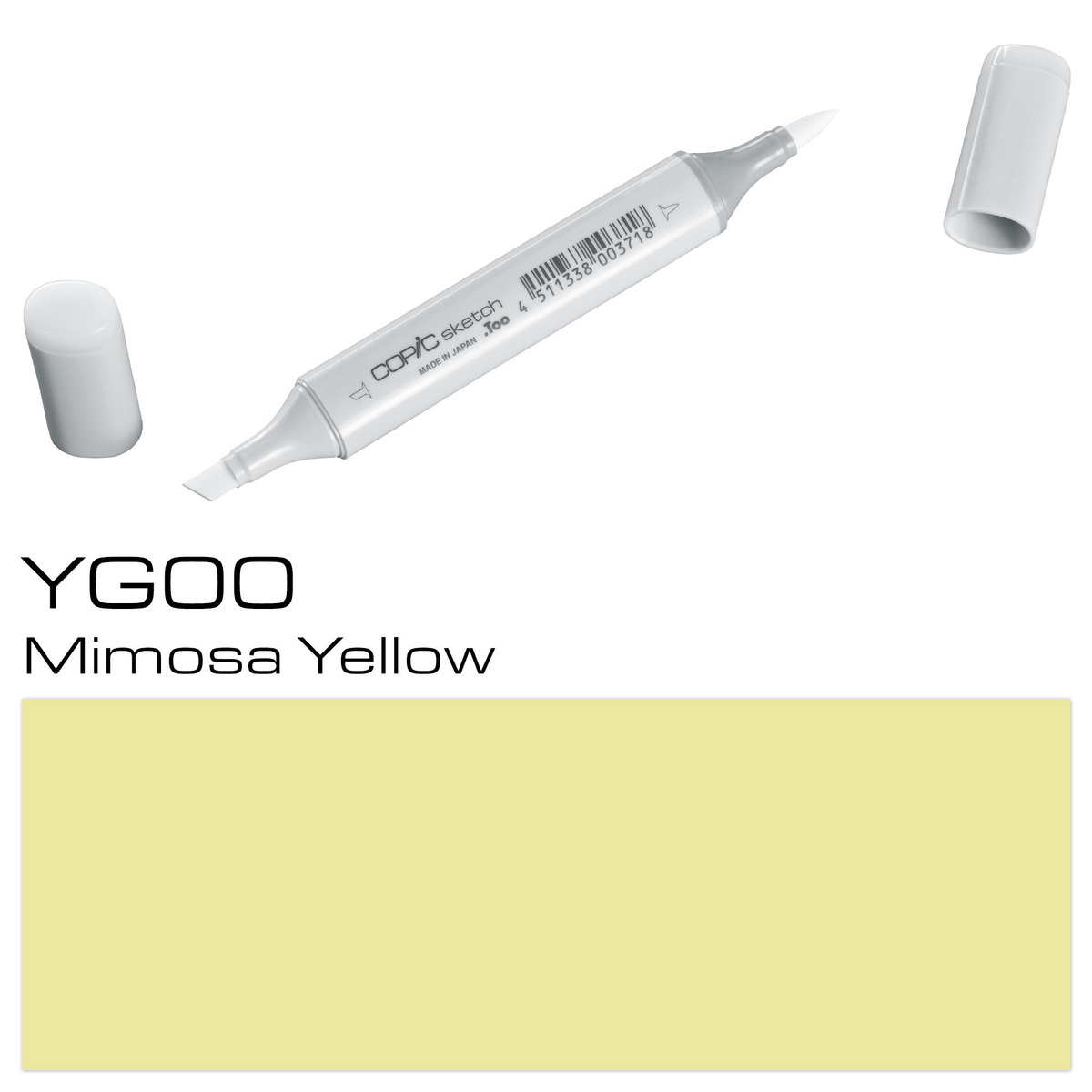 Copic Sketch YG 00 mimosa yell