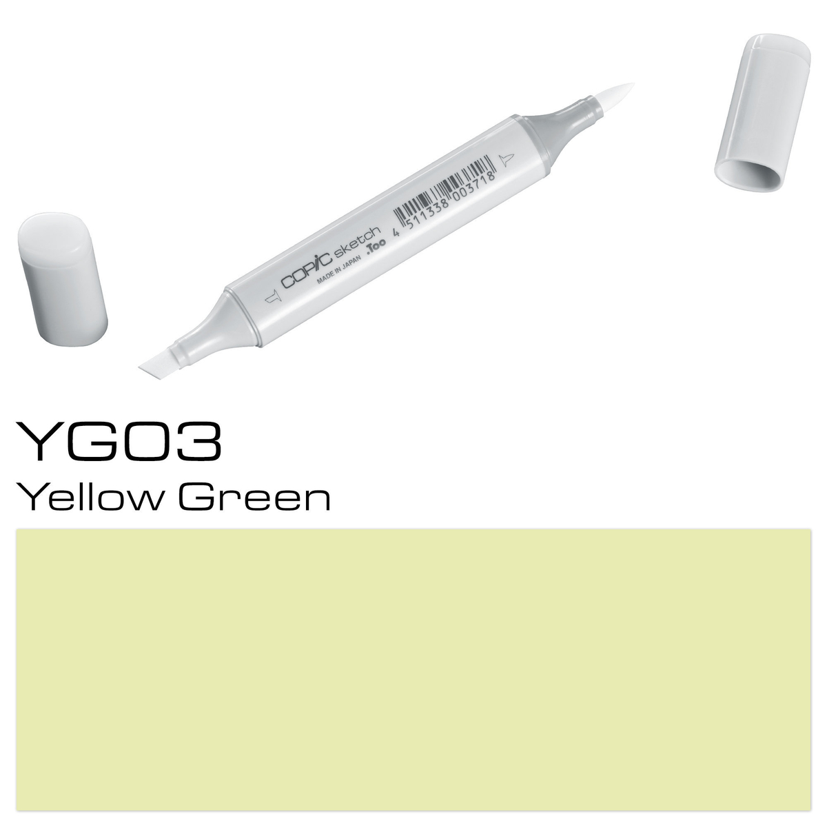 Copic Sketch YG 03 yellow gree