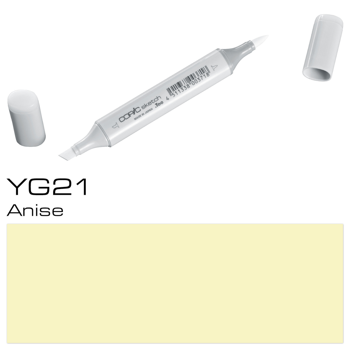 Copic Sketch YG 21 anise