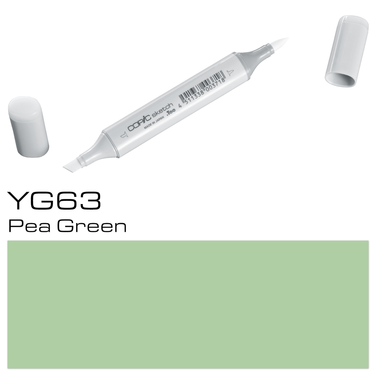 Copic Sketch YG 63 pea green