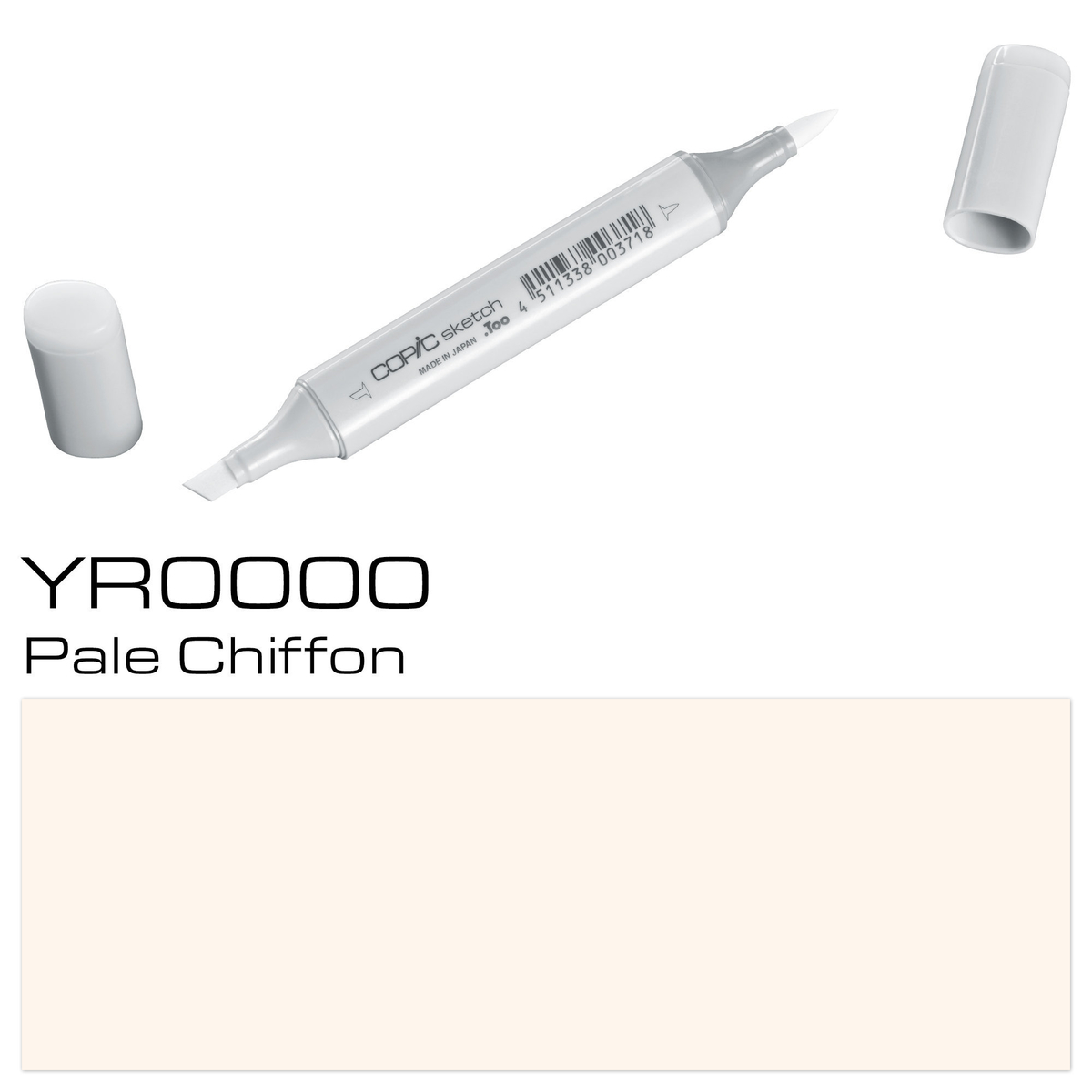 Copic Sketch YR 0000 pale chif