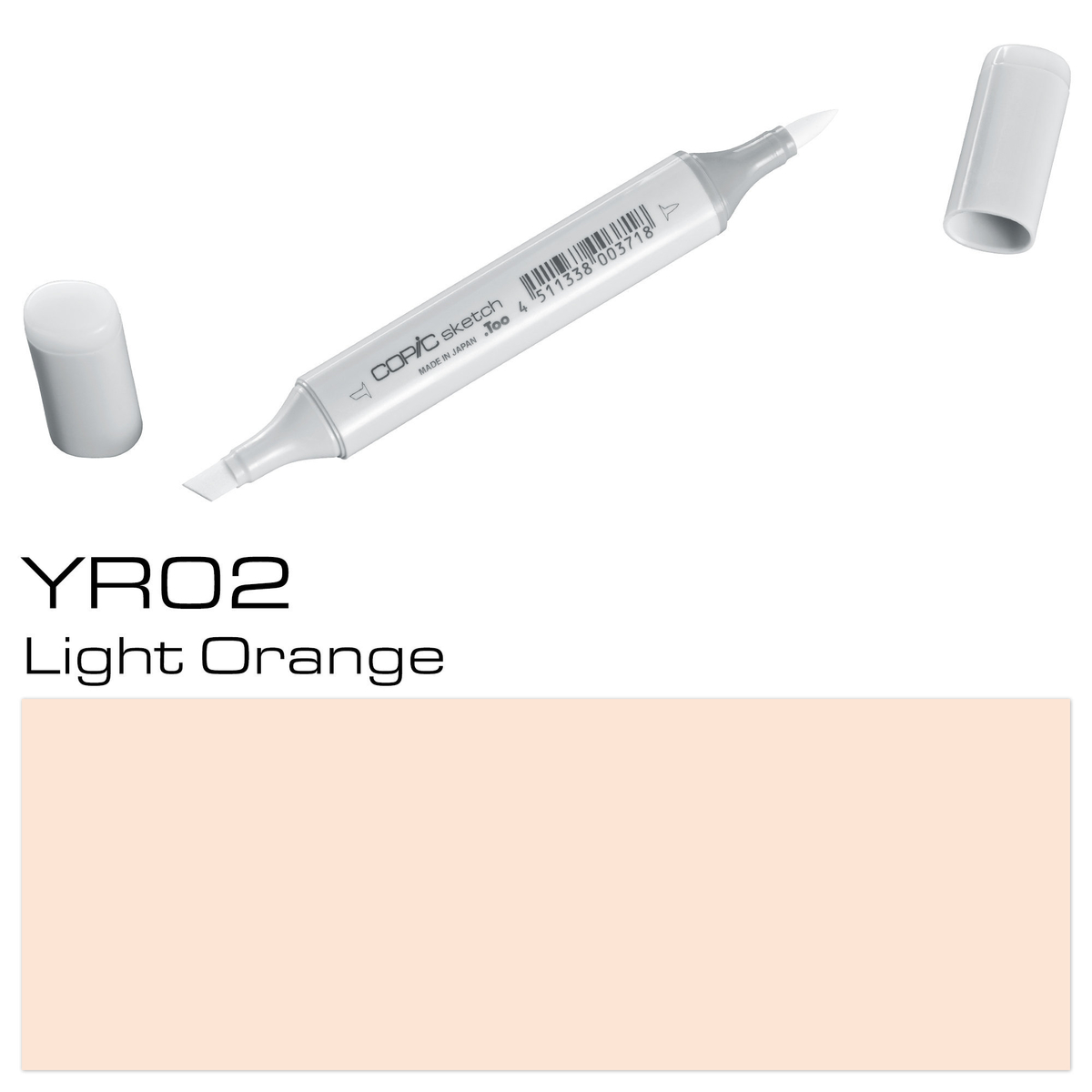 Copic Sketch YR 02 lgt orange