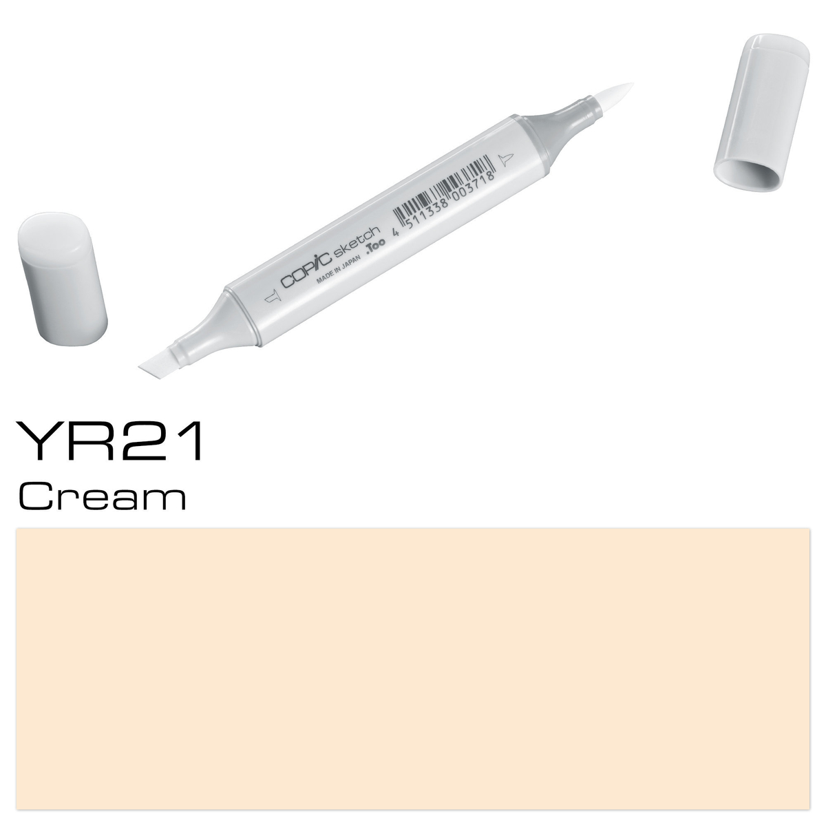 Copic Sketch YR 21 cream