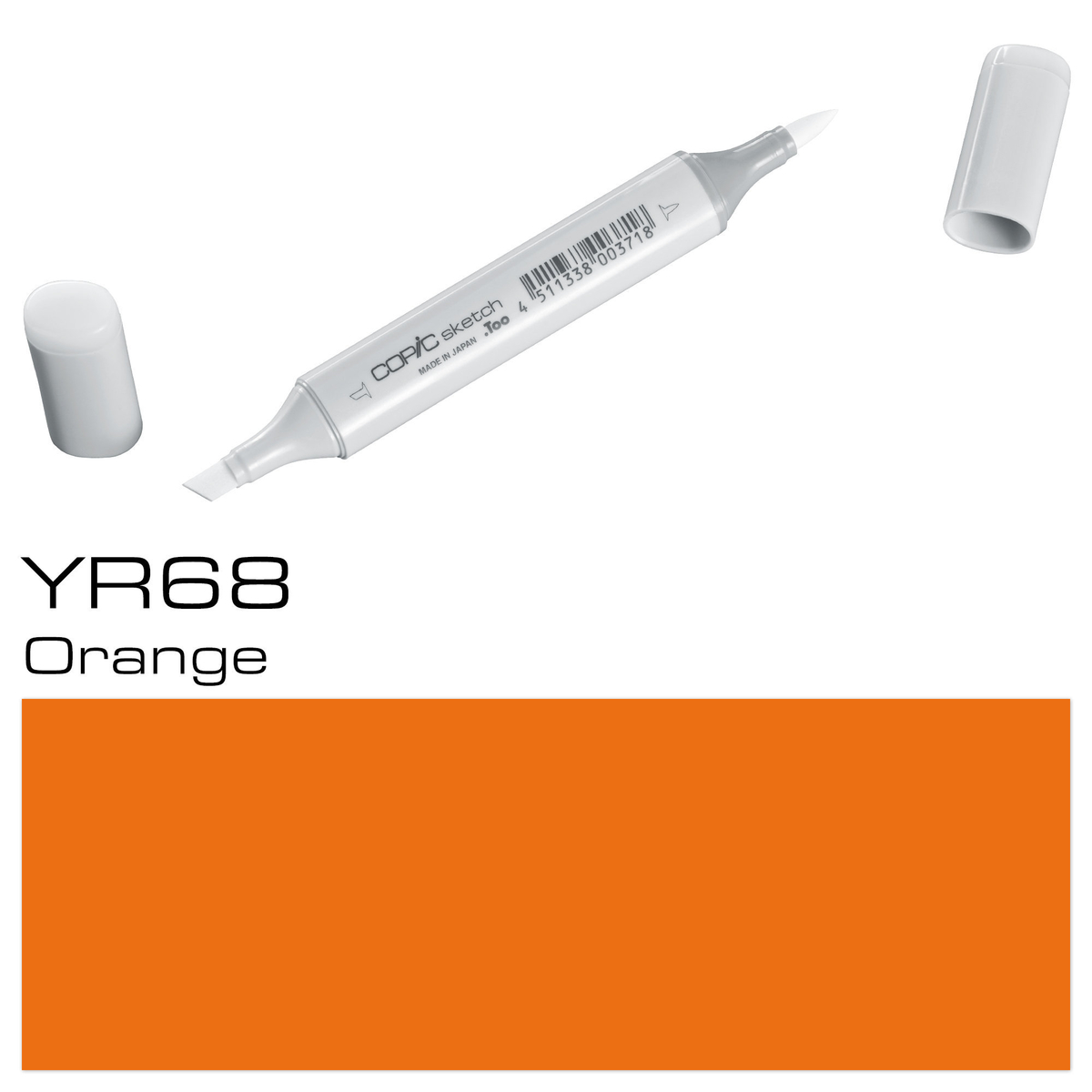 Copic Sketch YR 68 orange