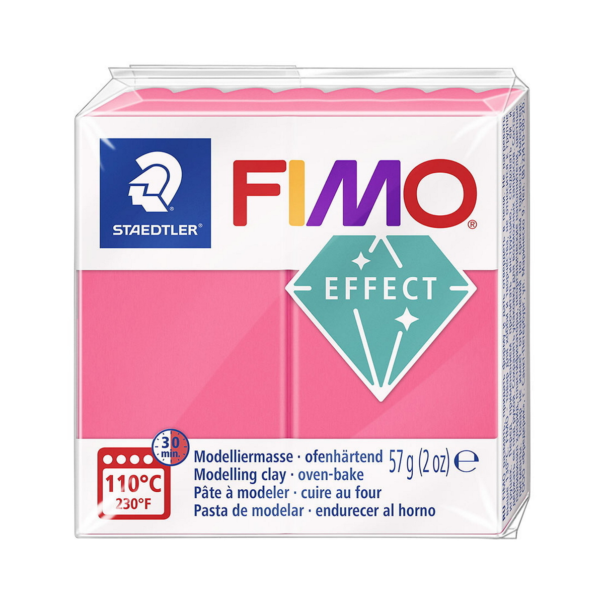 Fimo effect Translucent Red