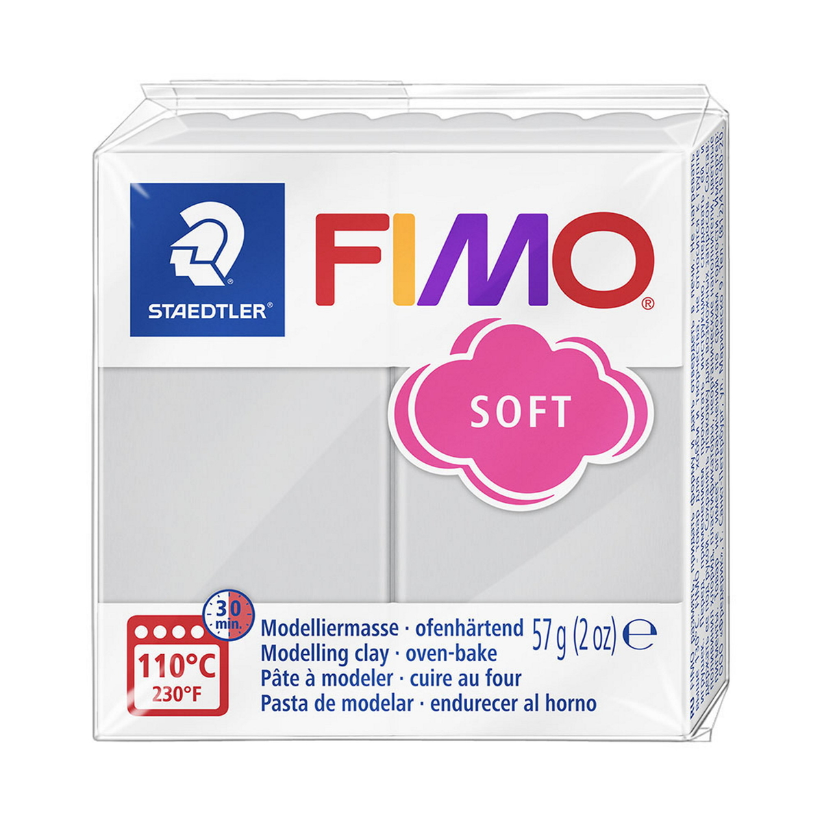 Fimo Soft 57g Dolphin Grey