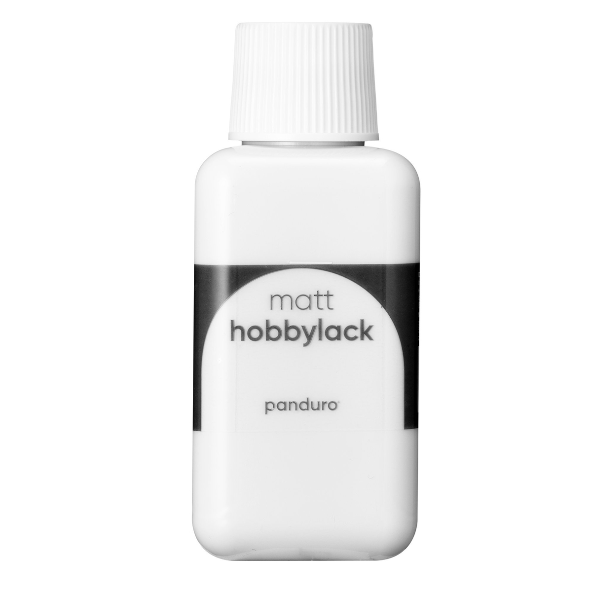 Hobbylack matt 250 ml white