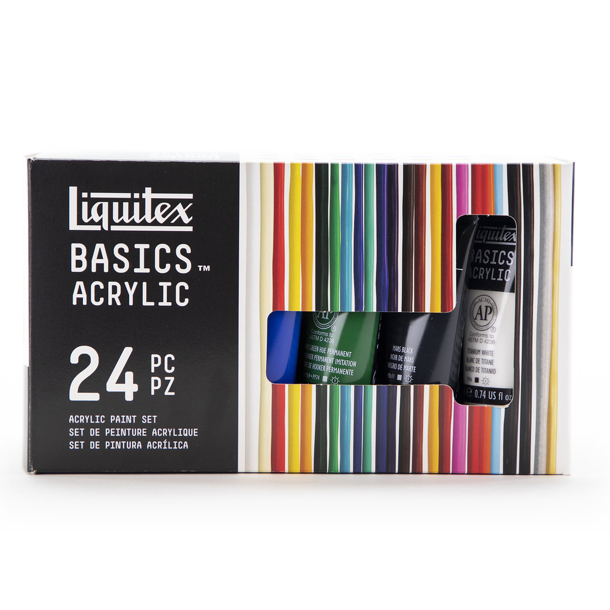 LX Basics acrylic set 24x22 ml